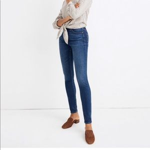 Madewell Curvy High-Rise Skinny Jeans in Hayes Was